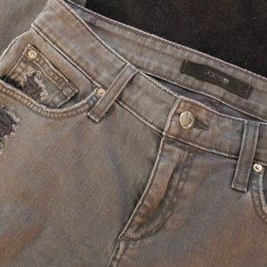 Joe's loose boyfriend crop jeans